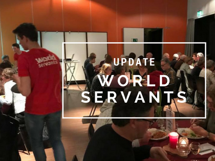Update van de World Servants