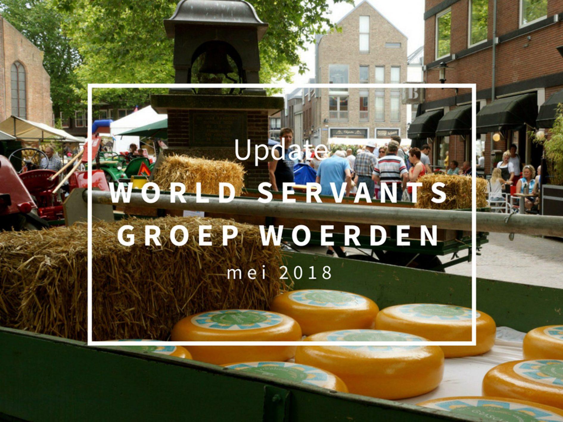 Update World servants mei 2018