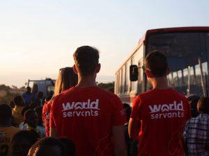 De World Servants op pad...