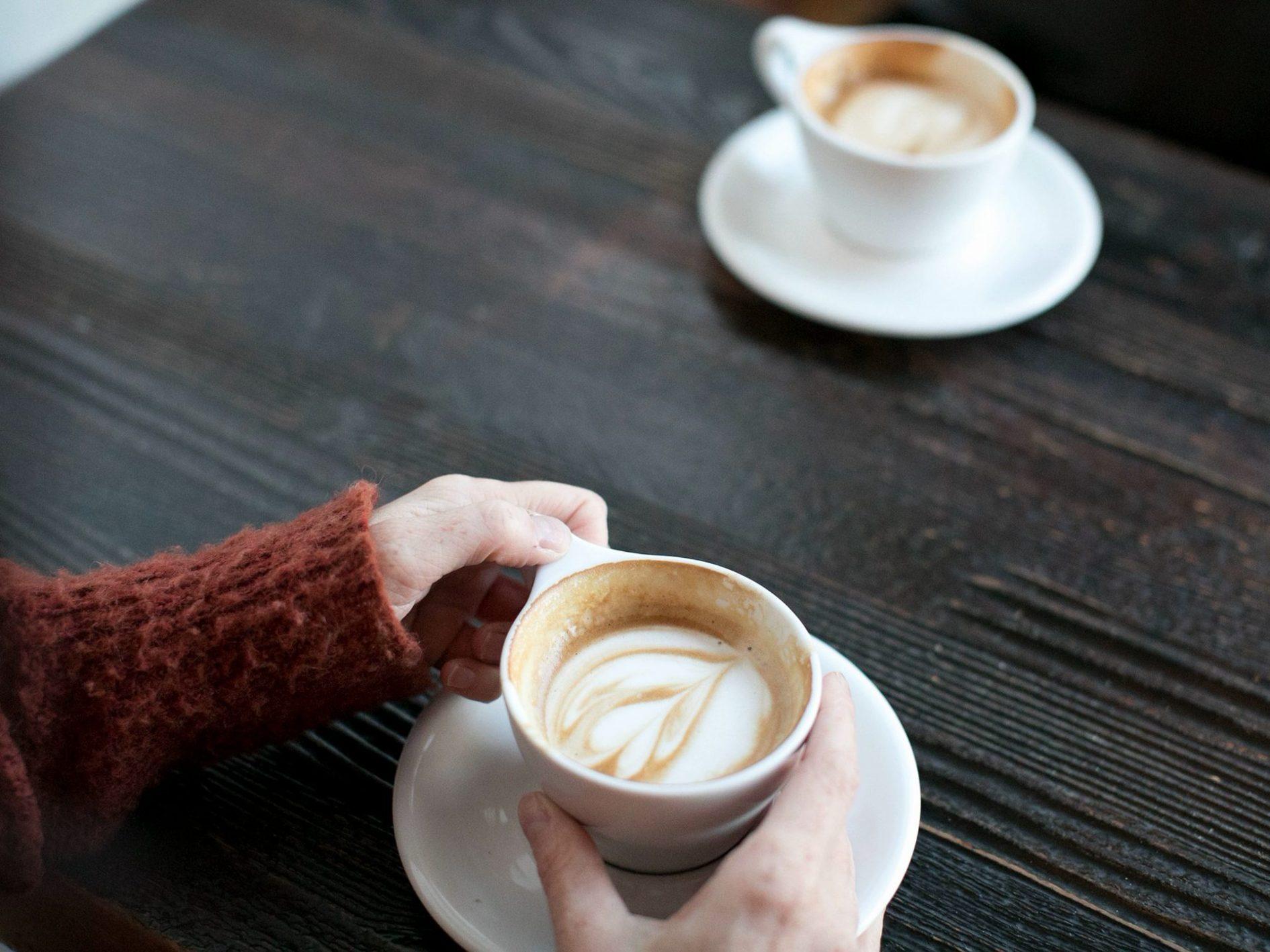 Koffietijd in beide kerken