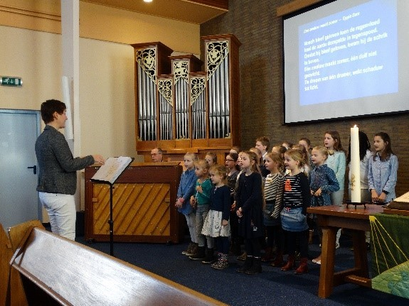 24 dec 19.00 uur kinderkerstfeest in de Maranathakerk