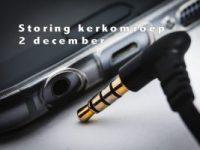 Uitzending via Kerkradio stopt