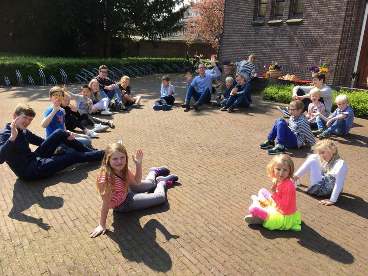 Kidsochtend in de Opstandingskerk