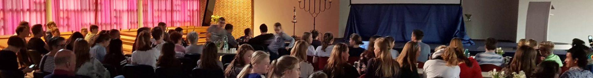Ruim 70 jongeren beleven de Pizza & Passion!