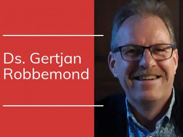 Ds. Gertjan Robbemond nieuwe predikant voor de gemeente
