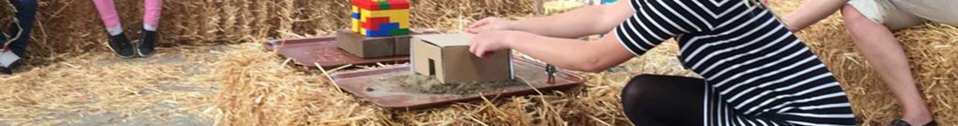 Kliederkerk over  bouwen op zand of op een rots