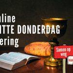 online - WITTE DONDERDAG viering