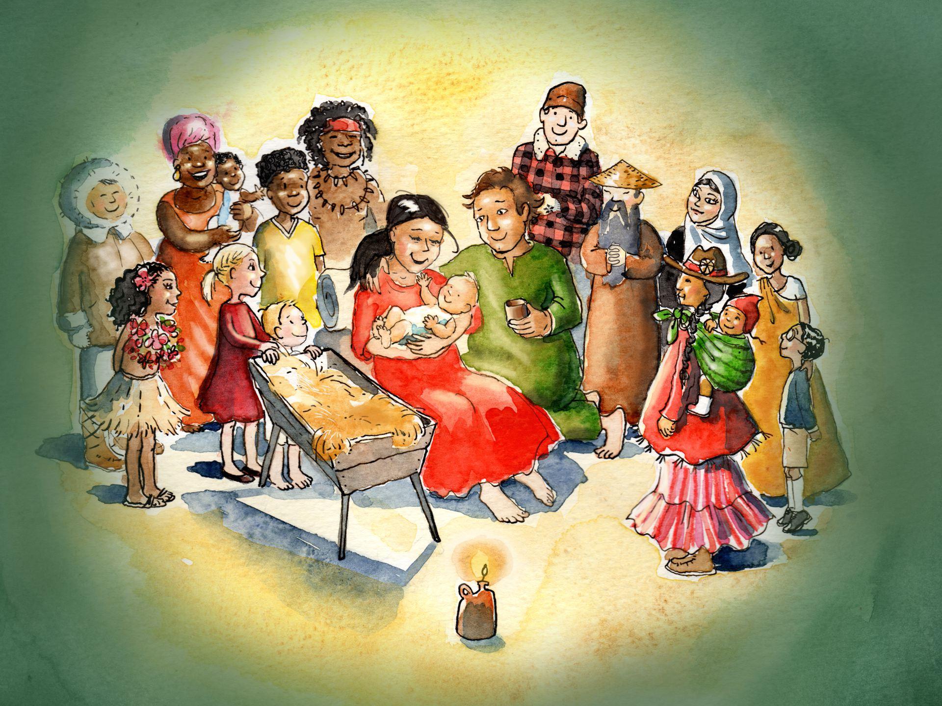 Kindernevendienst-XL 1e advent