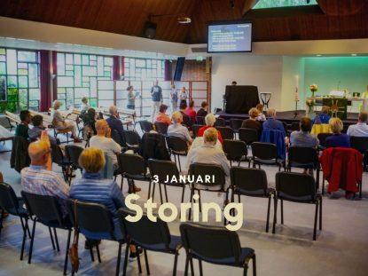 3 januari storing kerkdienstgemist