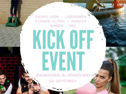 24 september Kick off event jeugdwerk