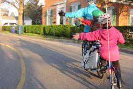 'Op weg naar Pasen' KND fietstocht