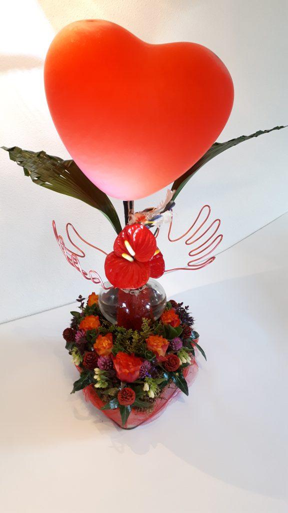 Liturgisch bloemstuk Pinksteren 2021 - Feest van de Geest