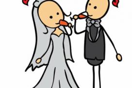 Bruiloftsfeest bij Kliederkerk